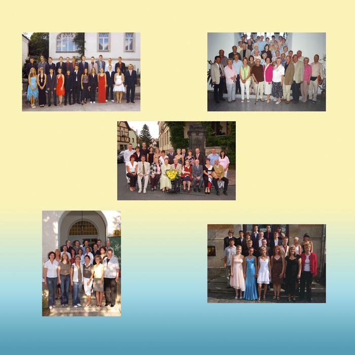 Gruppenbilder für Feiern aller Art