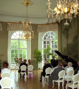 Hochzeit in festlichem Rahmen