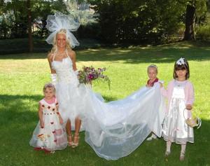 individuelle Hochzeitsfotografie im Innen- und Außenbereich
